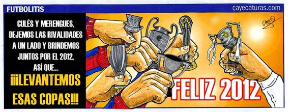el clasico cartoon happy new year