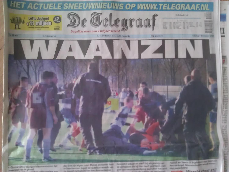 Onthutsende foto doodgeschopte Richard • Voetbalblog ...