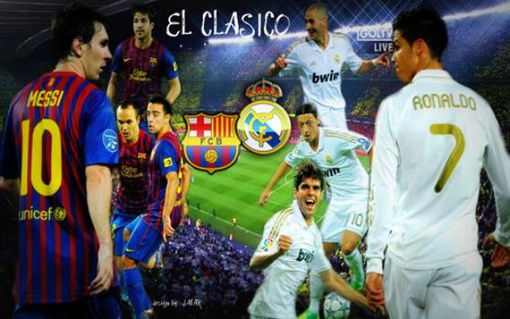 clasico real madrid - barcelona 2012