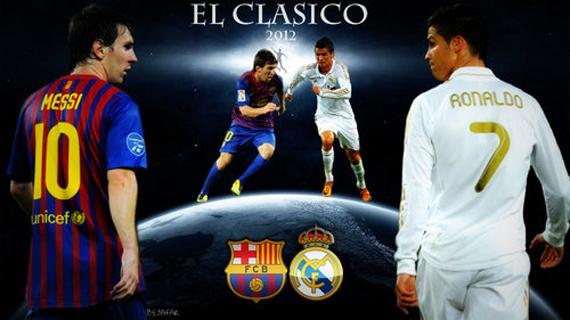 real madrid - barcelona flyer