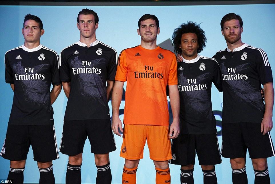 real madrid showt speciaal zwart voetbalshirt