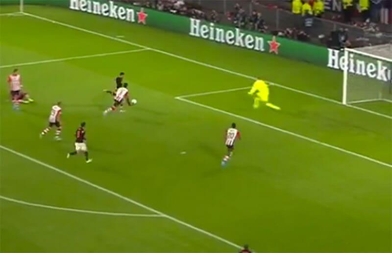 Blind doet PSV pijn, maar dompelt Eindhoven ook in vreugde