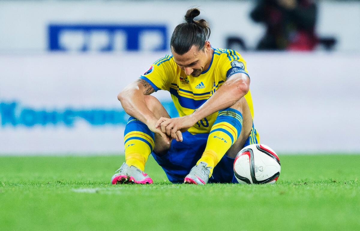 Ibrahimovic weer fit voor Zweden