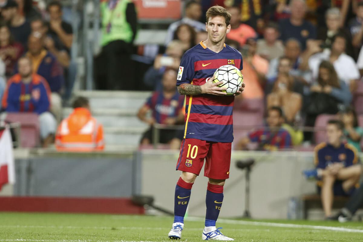 'Messi misschien wel eerder terug'