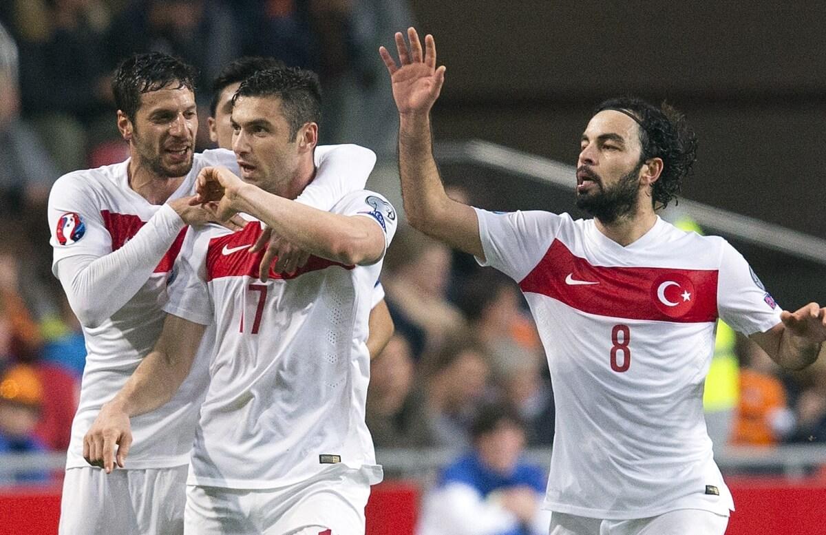 Turkije mist topper in EK-kwalificatie