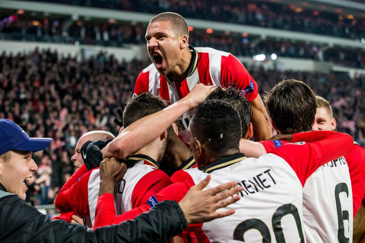 PSV overwintert in de Champions League