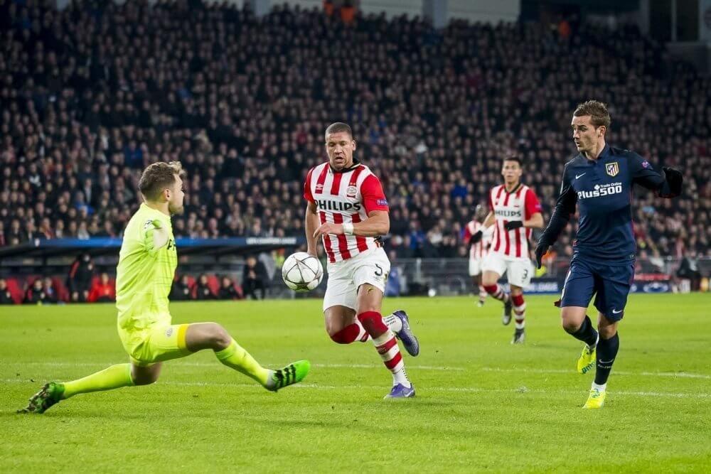 Atlético prijst PSV