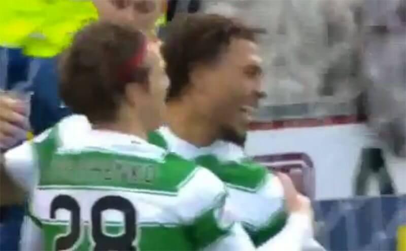 Kazim scoort voor Celtic