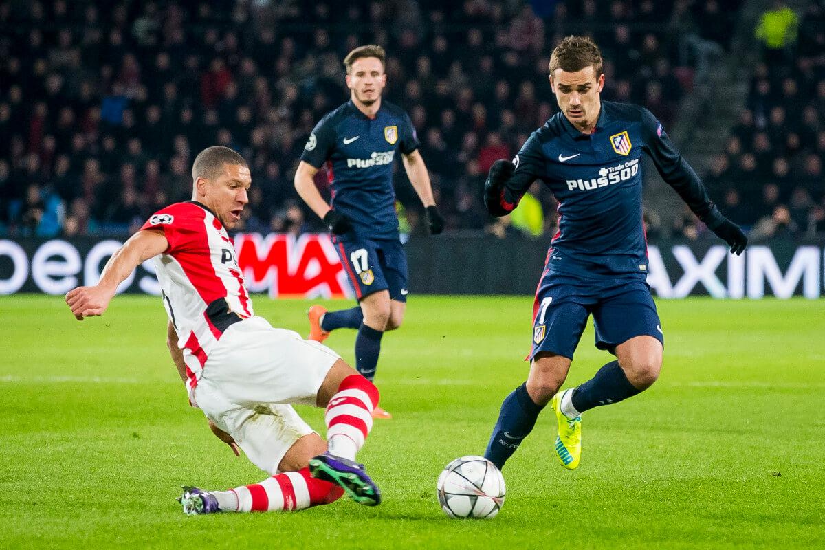 PSV boekt knap gelijkspel tegen Atletico
