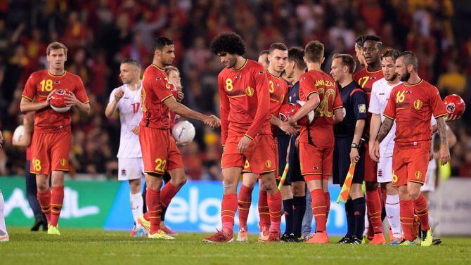 België geen eerste meer
