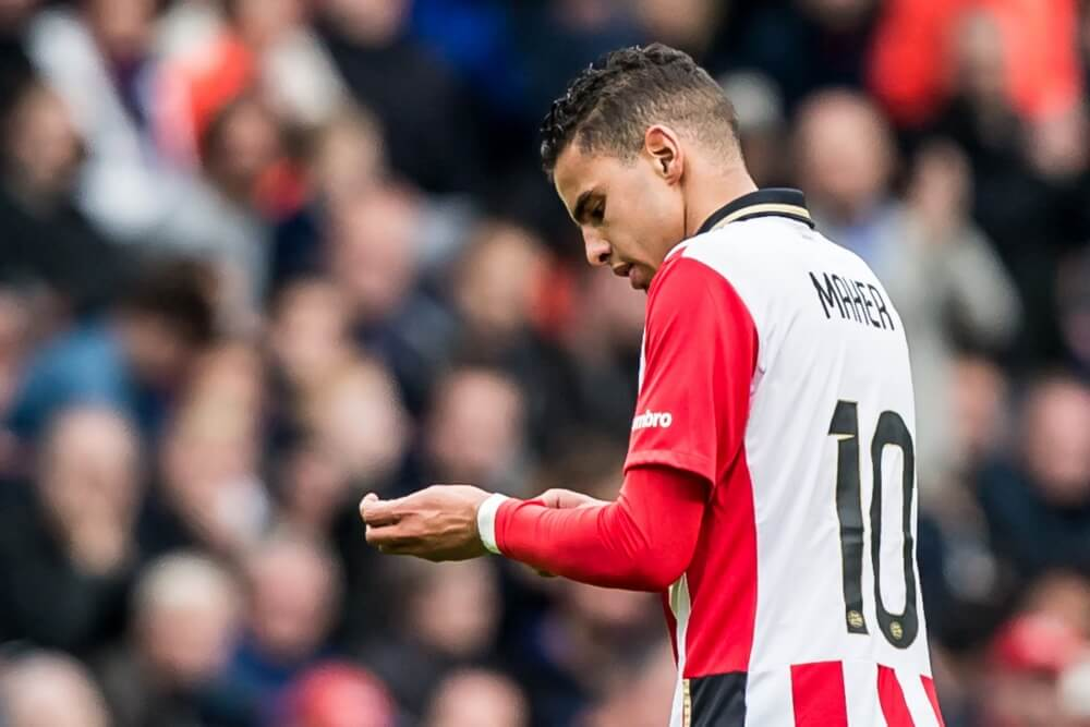 PSV laat Maher thuis