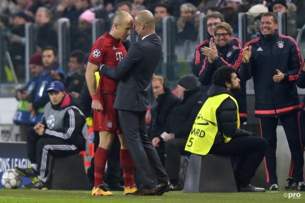 Robben niet zeker tegen Juventus