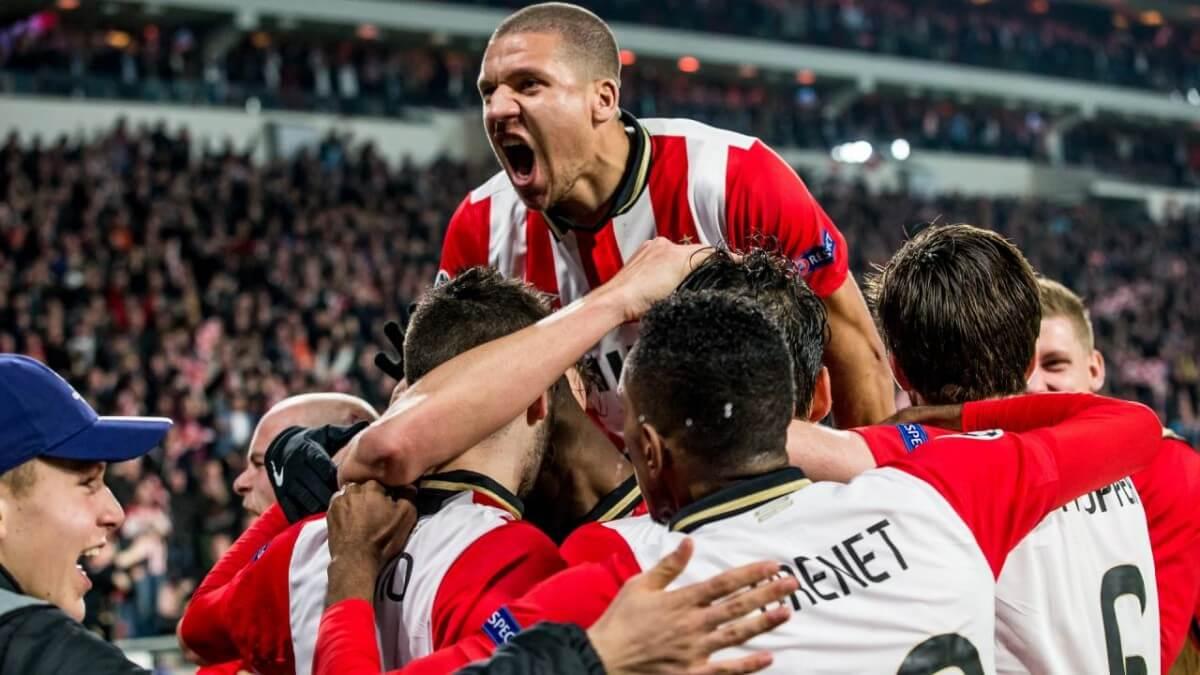 Schrijft PSV geschiedenis in Madrid?