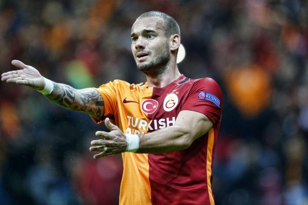 Sneijder vertrekt bij Galatasaray