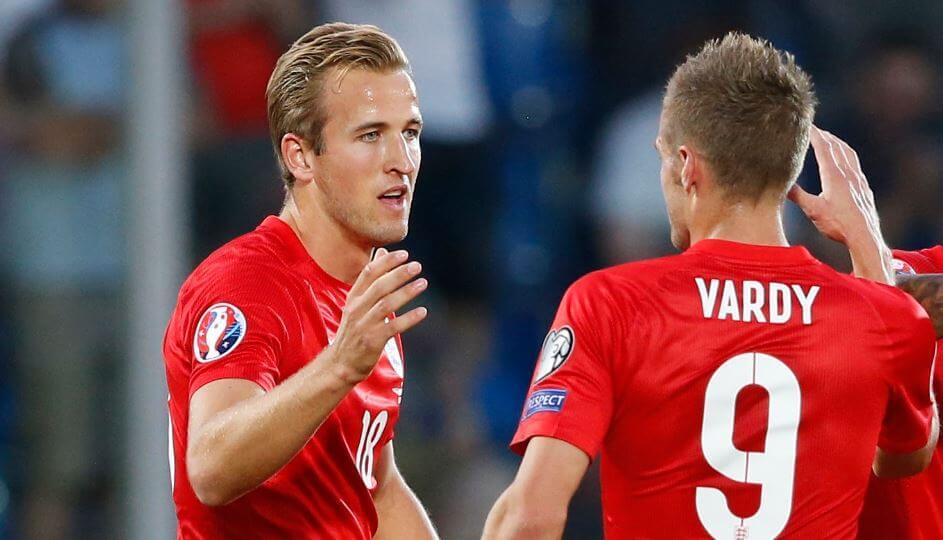 Vardy met prachtige goal tegen Duitsland