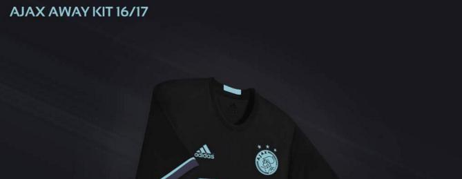 'Dit is het nieuwe uitshirt van Ajax'