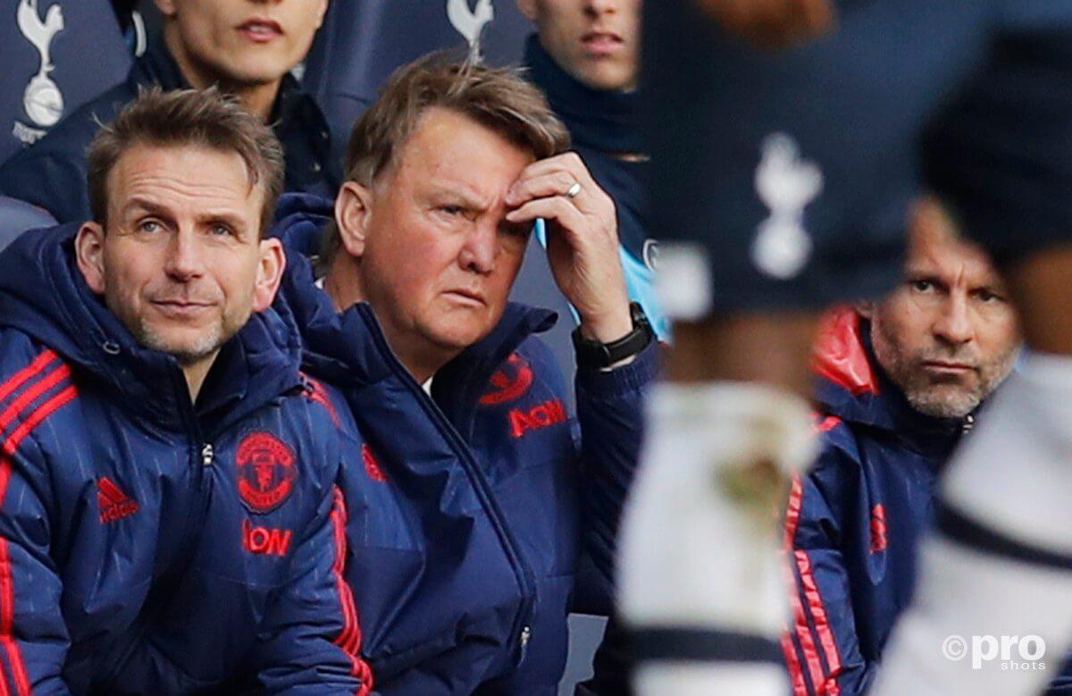Manchester United verliest half miljard door van Gaal