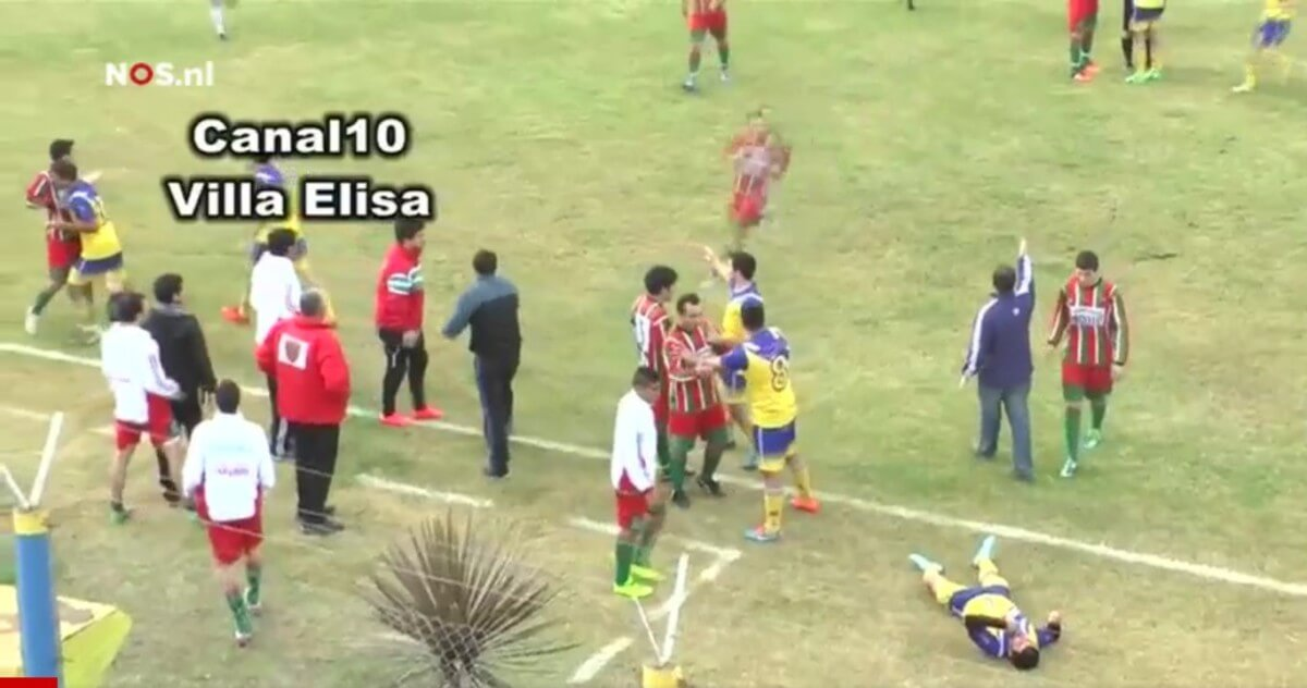 Argentijnse voetballer overleden na knietje