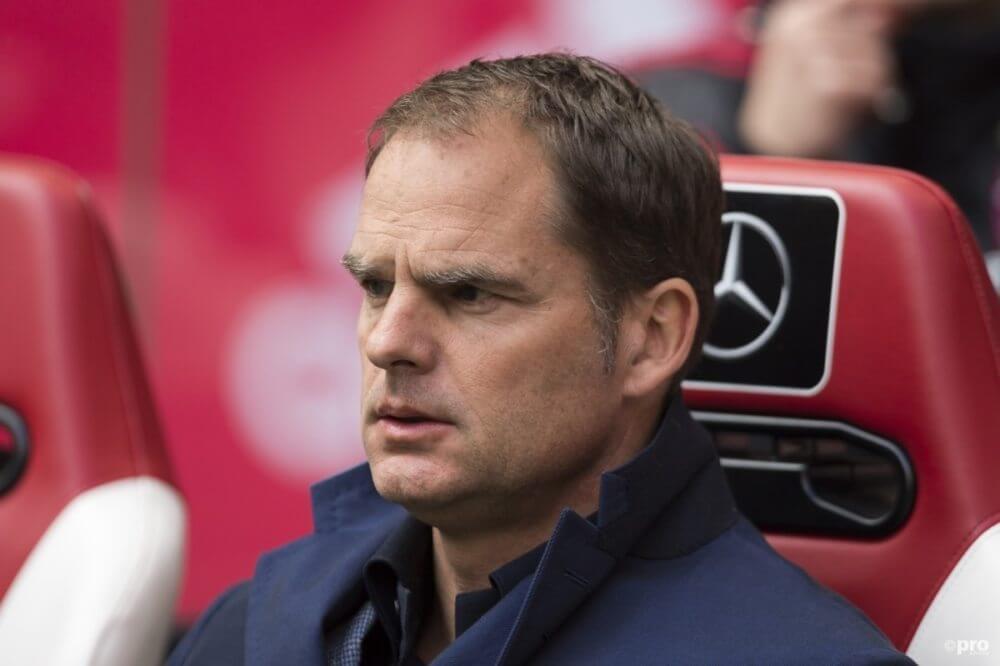 """De Boer houdt niet van 'vloeken': """"Ze willen ons feestje verpesten"""""""