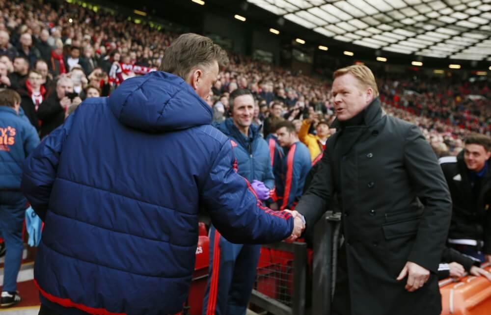 Koeman haalt uit naar Manchester United