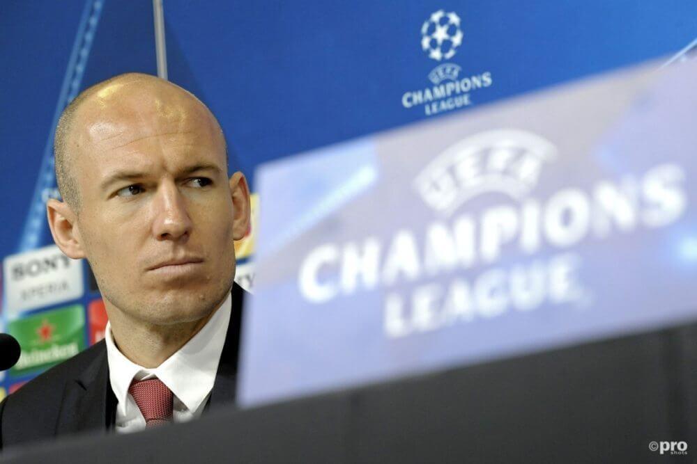 Robben misschien nooit meer in actie voor Bayern