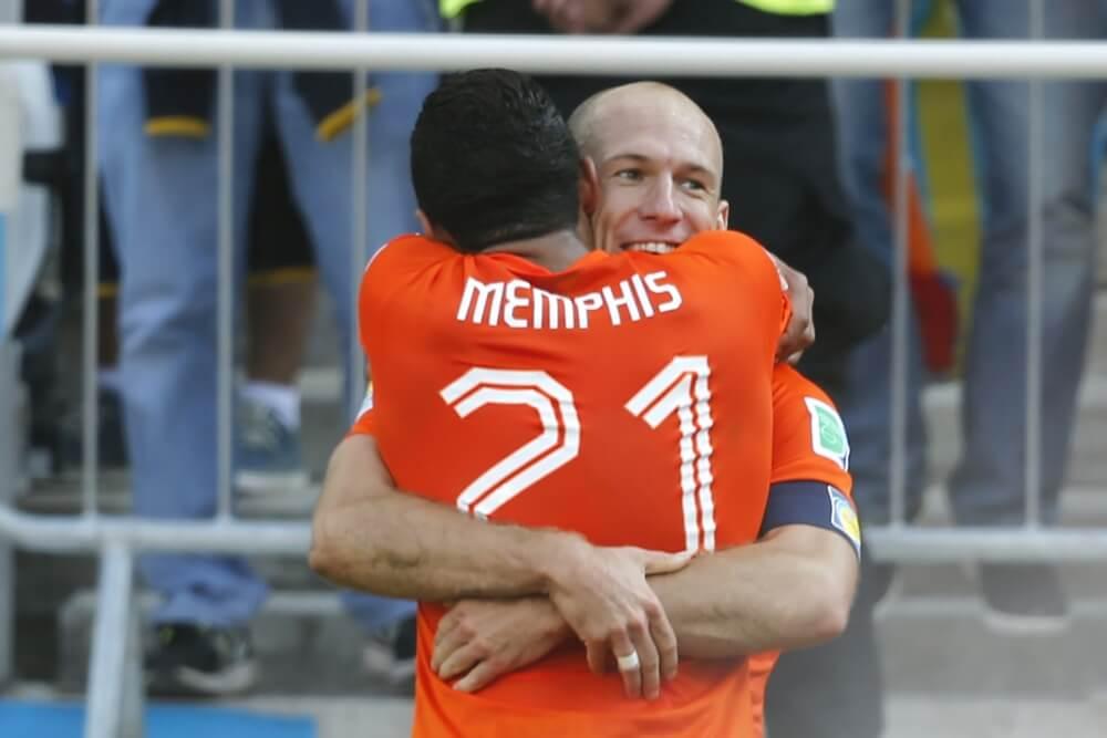 """Robben steunt landgenoot: """"Het talent is aanwezig"""""""