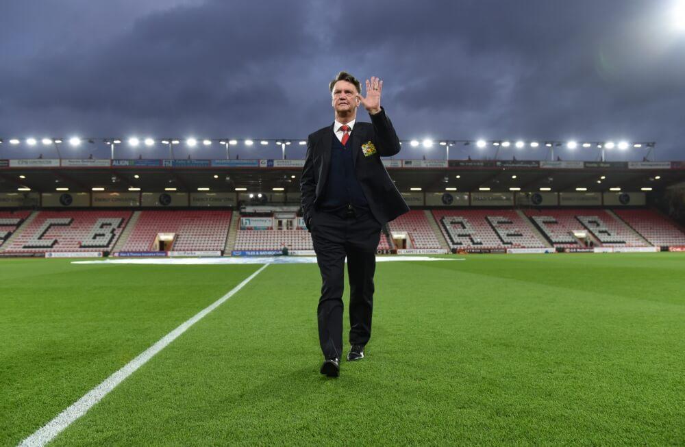 United bevestigt vertrek van Van Gaal