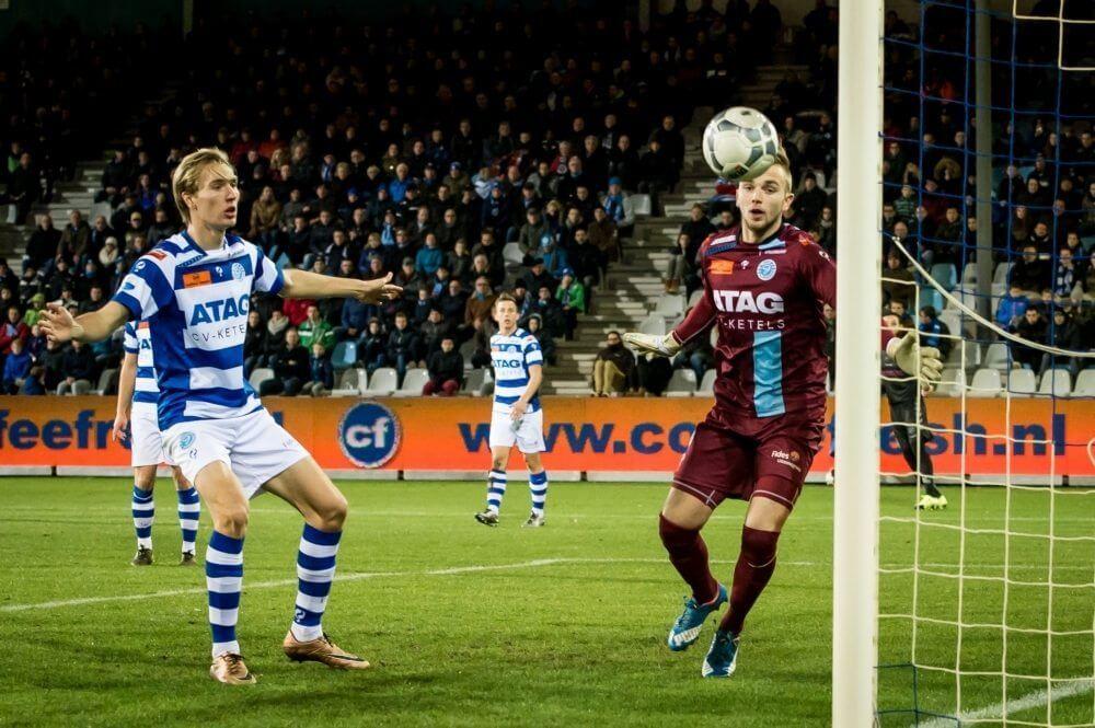 Uitblinker degradant praat met Eredivisie-club