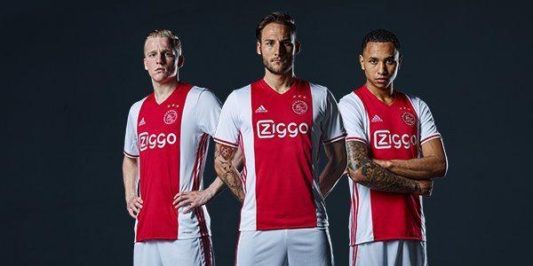 Nieuwe thuisshirt Ajax bekendgemaakt
