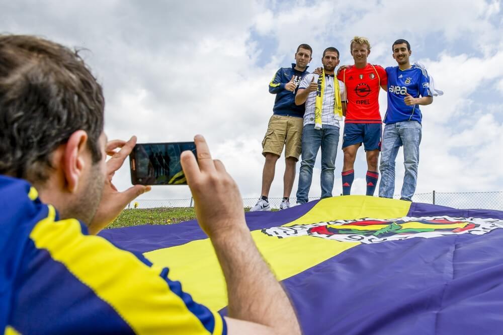 """Speciaal statement voor Kuyt: """"Bedankt, Dirk"""""""
