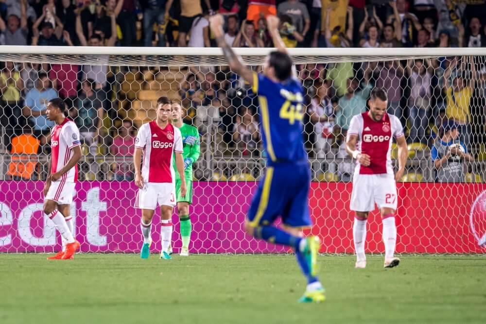 Ajax kan Champions League vergeten na wanprestatie