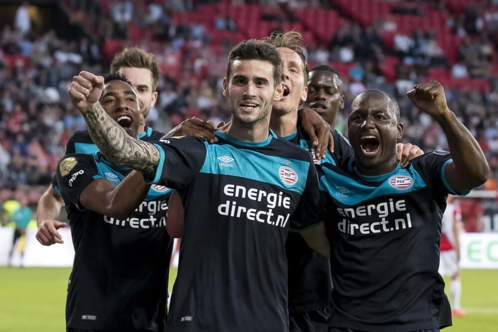 PSV met 5 verdedigers tegen Ajax-beul