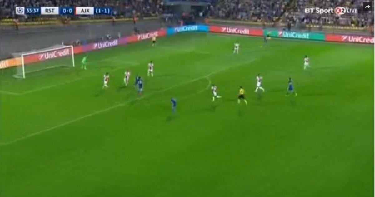Rostov op voorsprong tegen Ajax