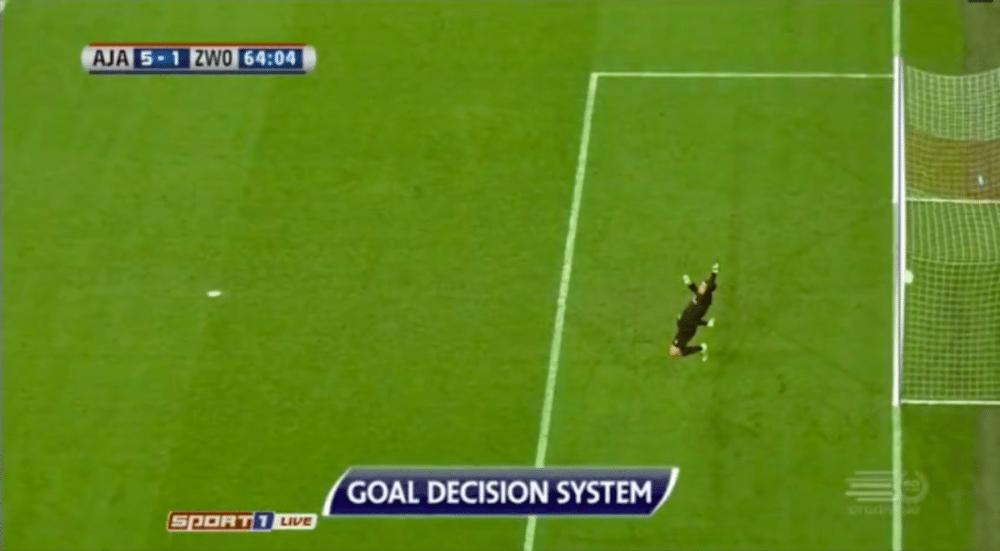 Dolberg scoort mooie goal