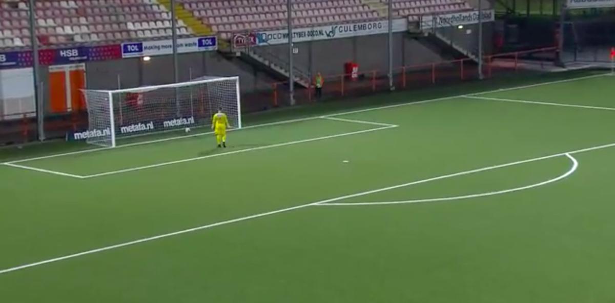 Heerlijke treffer in KNVB Beker-duel