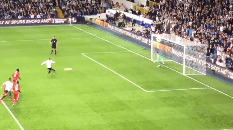 Janssen scoort eerste goal voor Spurs