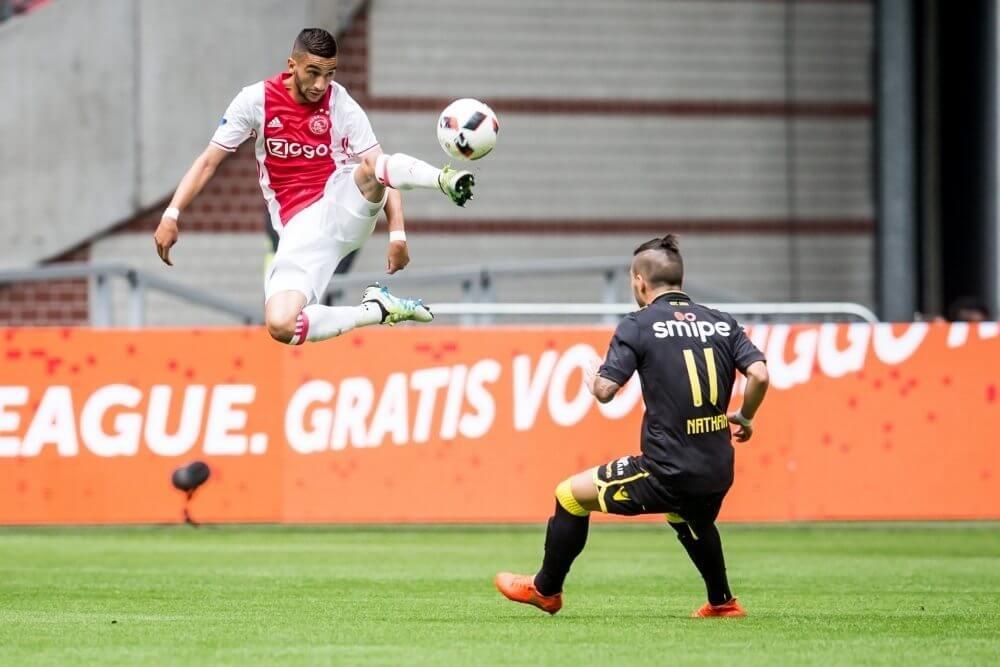 Ziyech kent prettig debuut bij Ajax
