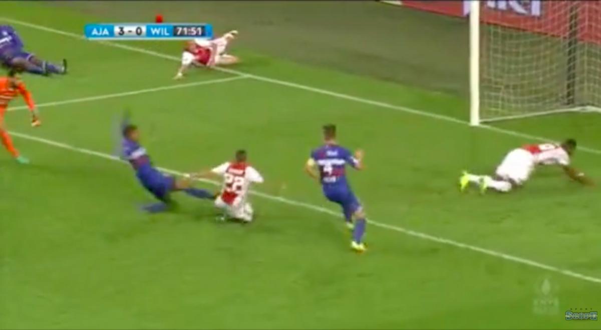 Ziyech scoort eerste goal in Ajax-shirt
