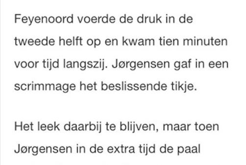 Sven Kramer actief in Eredivisie