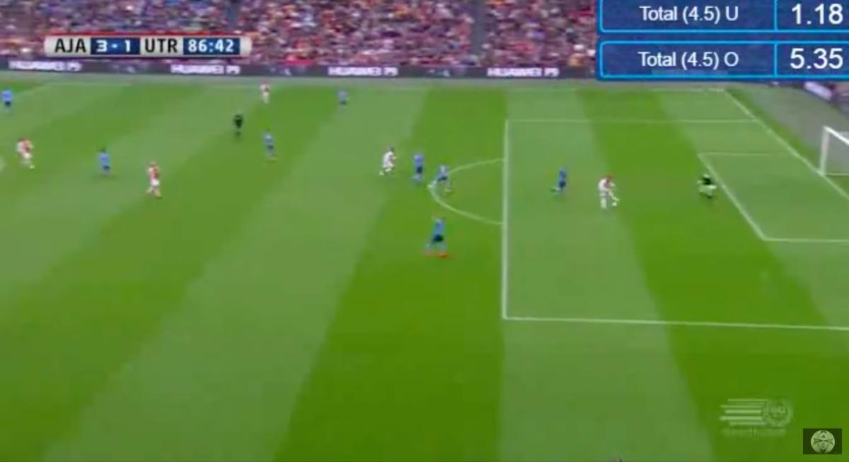 Ziyech scoort eerste Eredivisiedoelpunt voor Ajax