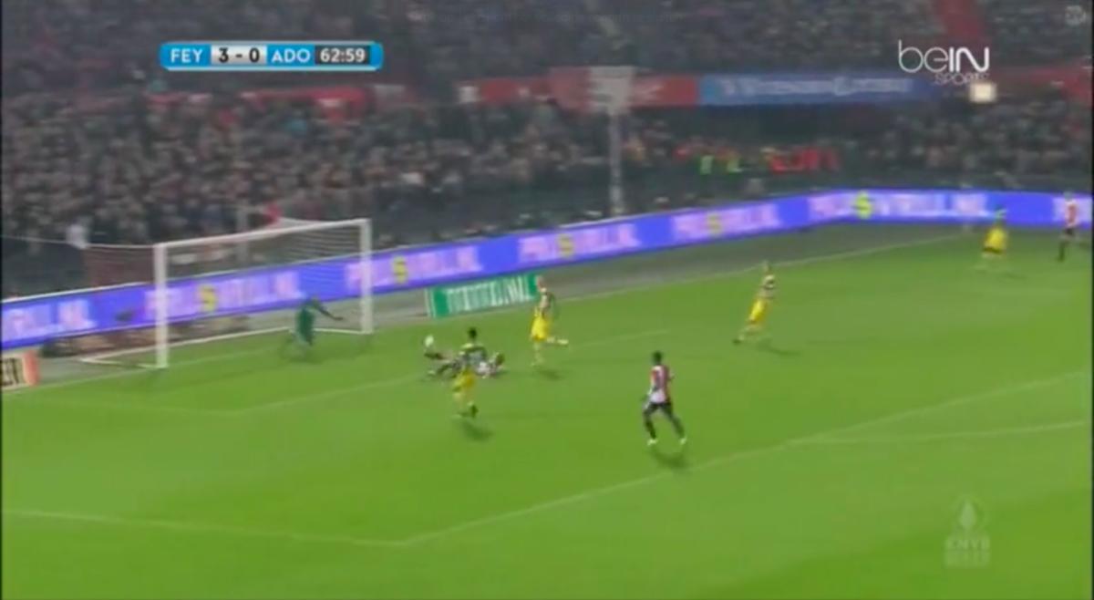 Kuyt opnieuw trefzeker in derby tegen Den Haag