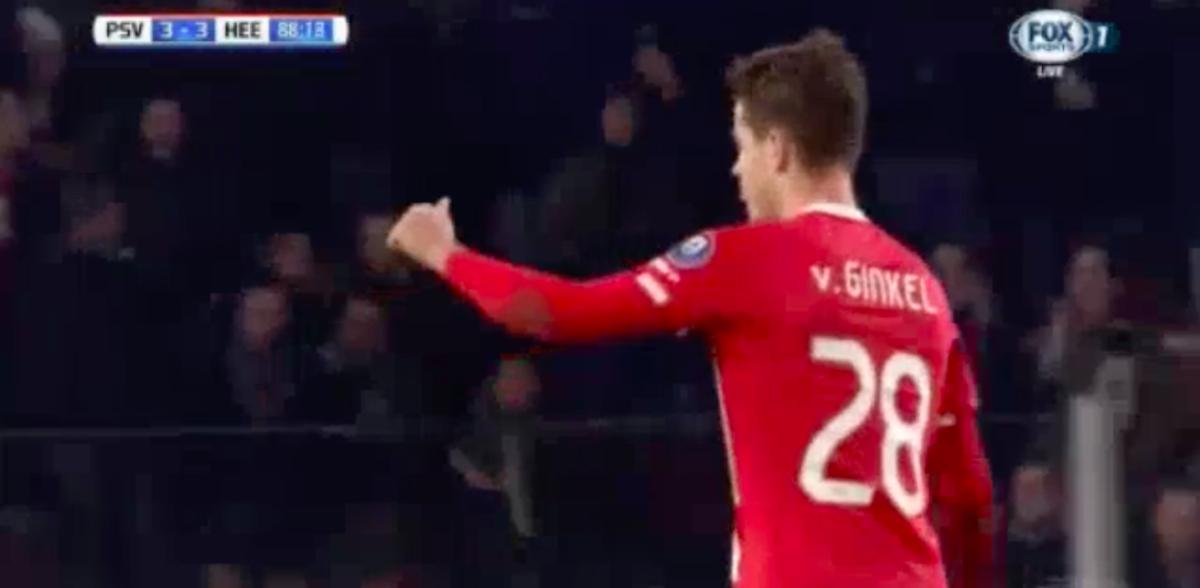 Van Ginkel opnieuw belangrijk voor PSV
