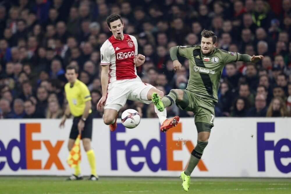 Samenvatting Ajax – Legia Warschau (1-0)