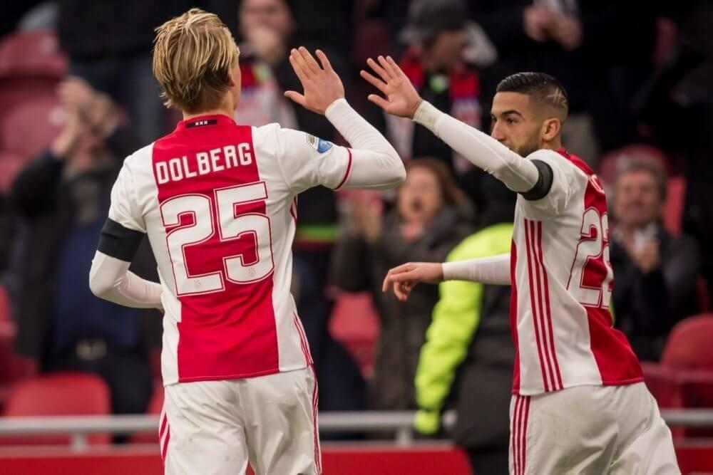 Samenvatting Ajax – Sparta Rotterdam (2-0)