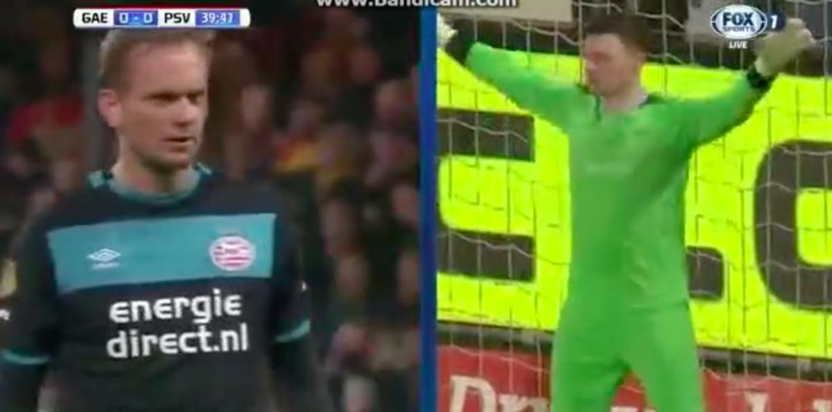 De Jong zet PSV op voorsprong: 0 – 1