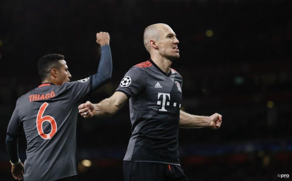 Robben moet naar Madrid