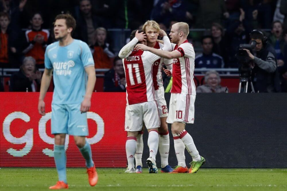 Samenvatting Ajax – FC Twente (3-0)