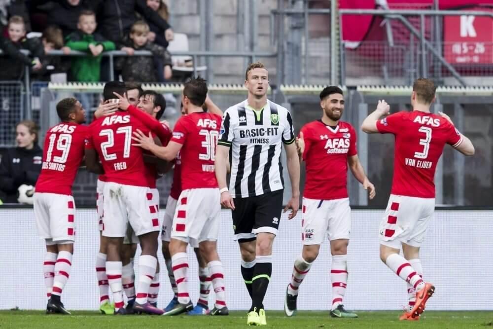 Samenvatting AZ Alkmaar - ADO Den Haag (4-0)