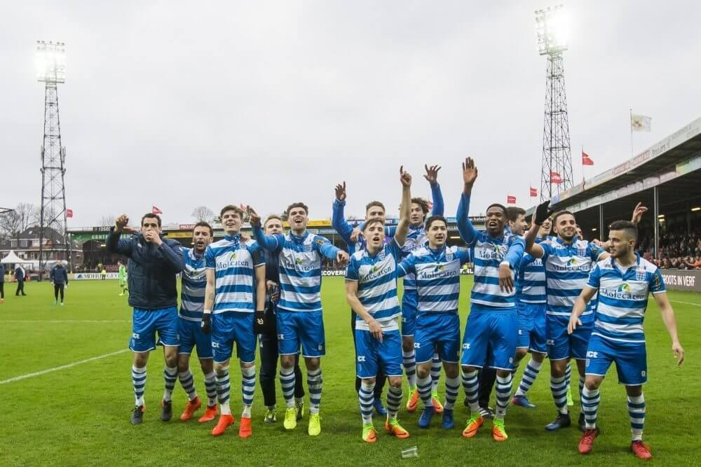 Samenvatting Go Ahead Eagles - PEC Zwolle (1-3)