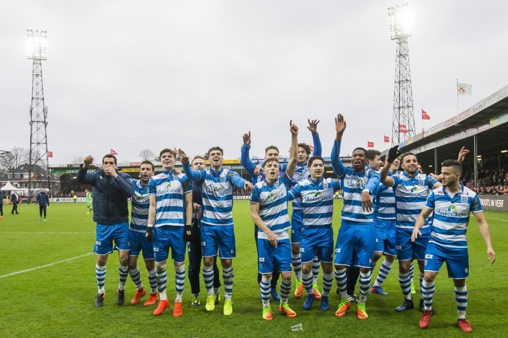 Samenvatting Go Ahead Eagles – PEC Zwolle (1-3)